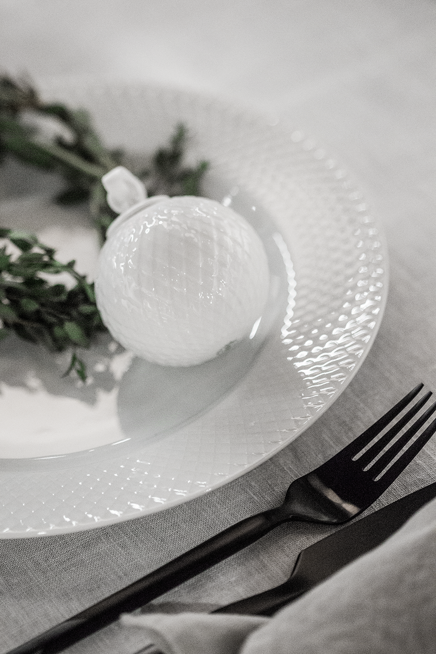MY CHRISTMAS TABLES FOR LYNGBY PORCELÆN