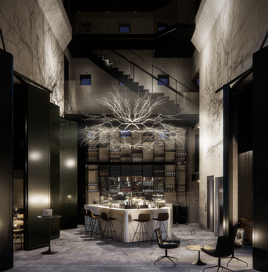 Herman k new copenhagen design hotel elisabeth heier for Top design hotels in copenhagen