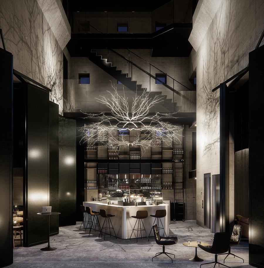 Herman k new copenhagen design hotel elisabeth heier for Design hotel copenhagen
